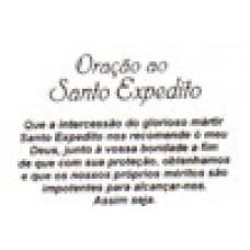 Ref. 60045 -  DECQ.ORAÇÃO A SANTO EXPEDITO