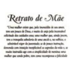 Ref. 60033 -  DECQ.RETRATO DE MÃE(GRANDE)