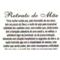 Ref. 60034 -  DECQ.RETRATO DE MÃE(PEQUENO)
