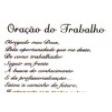 Ref. 60057 -  ORAÇÃO DO TRABALHO