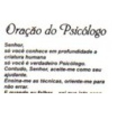 Ref. 60056 -  DECQ.ORAÇÃO DO PSICÓLOGO