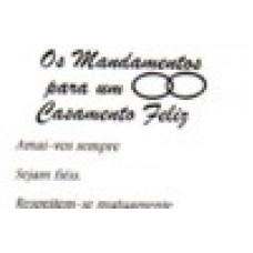 Ref. 60040 -  DECQ.CASAMENTO FELIZ