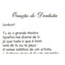 Ref. 60028 -  DECQ.ORAÇÃO DO DENTISTA
