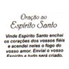 Ref. 60051 -  DECQ.ORAÇÃO AO ESPÍRITO SANTO