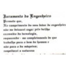Ref. 60017 -  DECQ.JURAMENTO DO ENGENHEIRO
