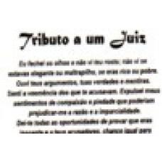 Ref. 60068 -  DECQ.TRIBUTO A UM JUIZ