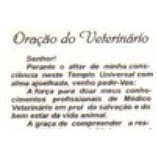 Ref. 60058 -  DECQ.ORAÇÃO DO VETERINÁRIO