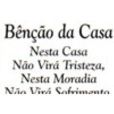 Ref. 60005 -  DECQ.BENÇÃO DA CASA