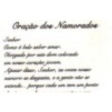 Ref. 60061 -  DECALQUE ORAÇÃO DOS NAMORADOS
