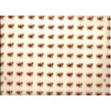 Ref. 78292 -  DECALQUE ROSA VERMELHA 1876/108