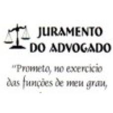Ref. 60022 -  DECQ.JURAMENTO DO ADVOGADO
