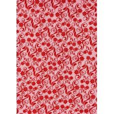 Ref. 78860 - Decalque arabesco vermelho