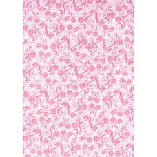 Ref. 78868 - Decalque arabesco rosa