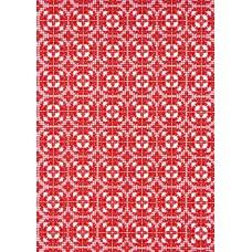 Ref. 78870 - Decalque arabesco vermelho