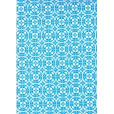 Ref. 78873 - Decalque arabesco azul claro