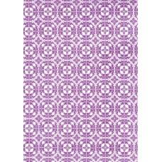 Ref. 78876 - Decalque arabesco lilás