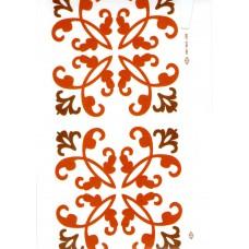Ref. 78959 - Decalque arabesco marrom