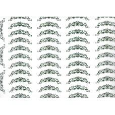 Ref. 79047 - Decalque arabesco verde
