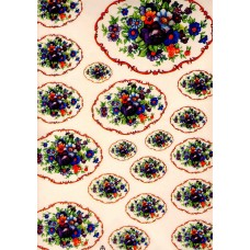 Ref. 79108 - Decalque arabesco flor lilás