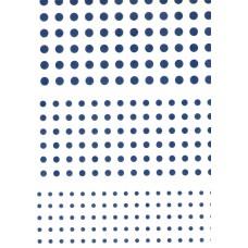 Ref. 79160 - Decalque bolas azul marinho pequenas