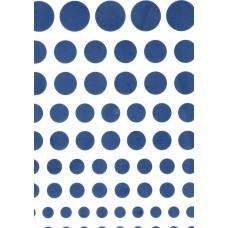 Ref. 79161 - Decalque bolas azul marinho