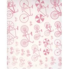 Ref. 79172 - Decalque bicicleta rosa