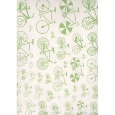 Ref. 79175 - Decalque bicicleta verde claro