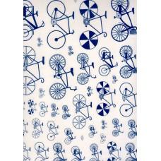 Ref. 79180 - Decalque bicicleta azul marinho