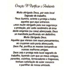 Ref. 60062 -  DECQ.ORAÇÃO P/PURIFICAR AMBIENTE