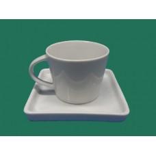 Ref. 03815 - Xícara chá c/ pires americana/oriental